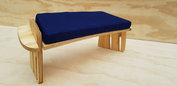 NAVY BLUE Eco Peace Meditation Seat with 3 sitting heights and Carry Bag