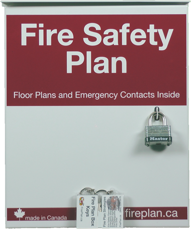 Fire Plan Box (Outdoor Mounting)