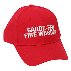 Bilingual Fire Warden Hat