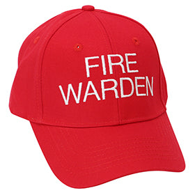Fire Warden Hat