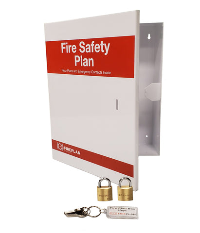 Fire Plan Box (Indoor Mounting)