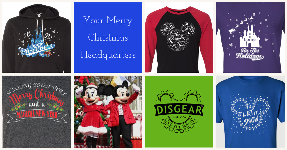 DisGear Christmas Theme Park Apparel