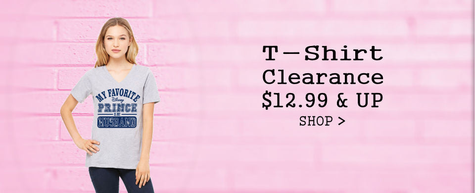 DisGear T-Shirt Clearance $12.99 and Up