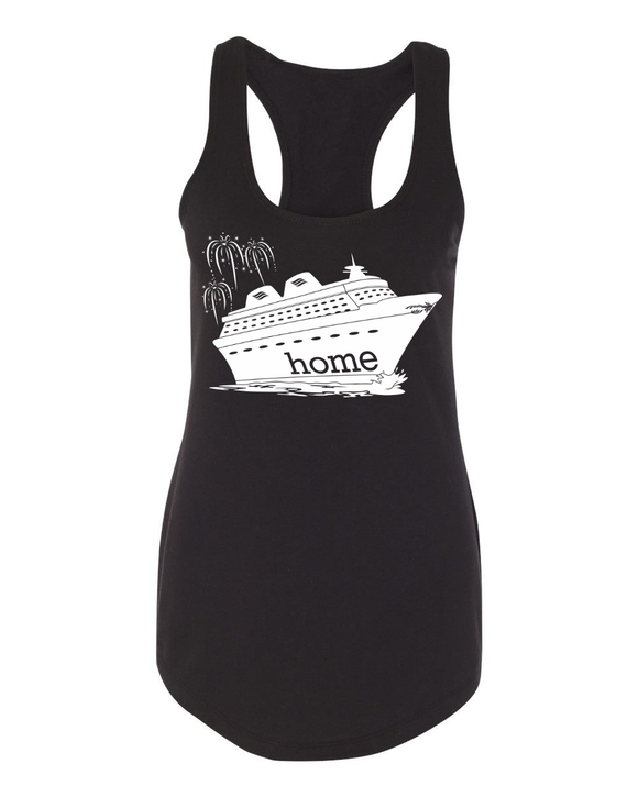 That Magical Cruise Is My Home Ladies Tank - With Personalization Option