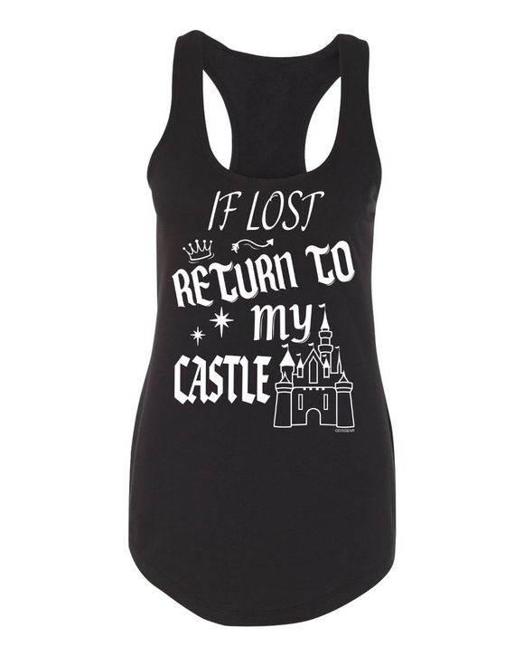 FRESH RELEASE - If Lost Return To My Castle Tank for Ladies