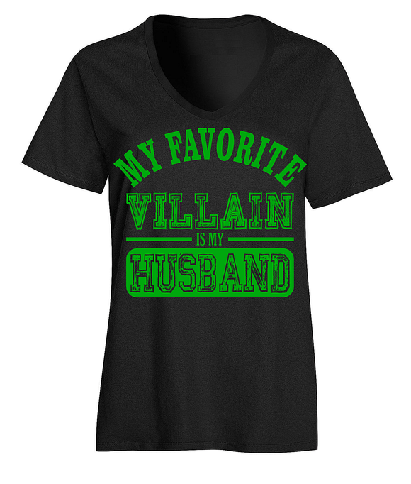 My Favorite Villain Is My Husband T-Shirt
