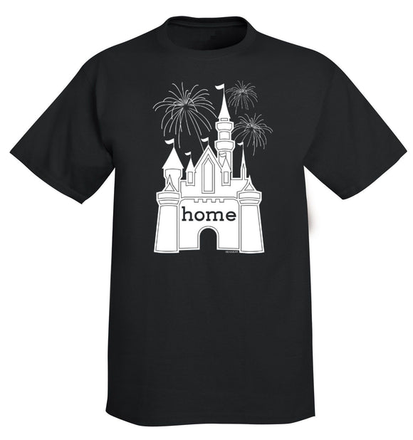 That Magical Castle Is My Home Fireworks Men's T-Shirt