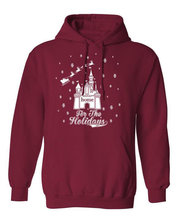 Home For The Holidays Christmas Hoodie