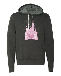 Perfectly Pink Princess Castle Parks Hoodie