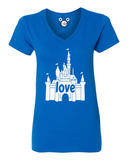 I Love That Castle Ladies T-Shirt