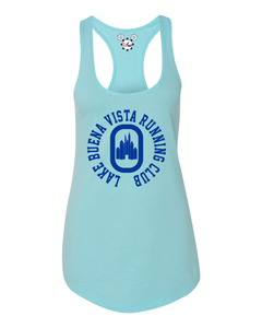 DisGear Lake Buena Vista Running Club Ladies Racerback Running Tank - Behind The Mouse