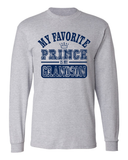 My Favorite Prince Is My Grandson Long Sleeve T-Shirt