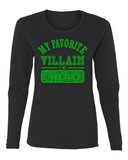My Favorite Villain Is My Boyfriend Long Sleeve T-Shirt