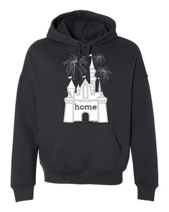 That Magical Castle Is My Home Fireworks Hoodie