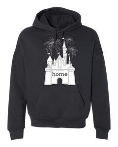 That Magical Castle Is My Home Fireworks Unisex Hoodie