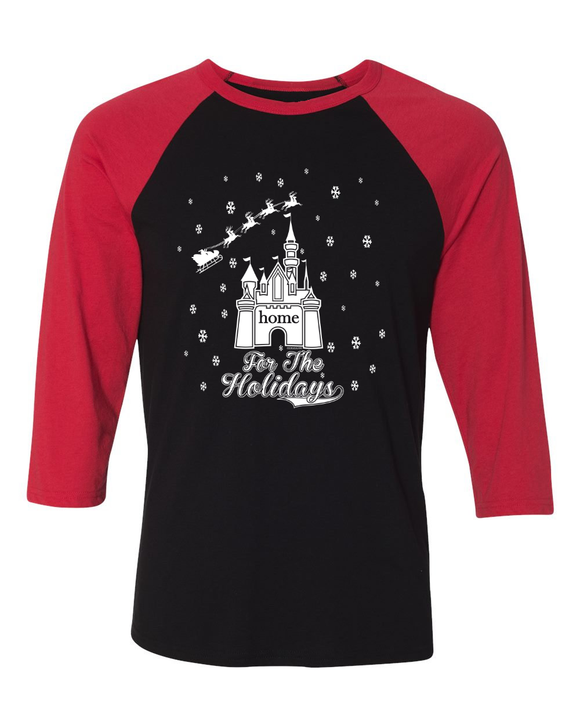 Home For The Holidays Men's Christmas T-Shirt