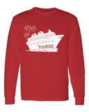 That Magical Cruise Is My Home Men's Long Sleeve T-Shirt - With Personalization Option