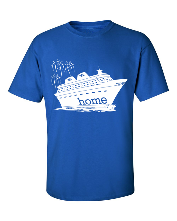 That Magical Cruise Is My Home Men's T-Shirt - With Personalization Option