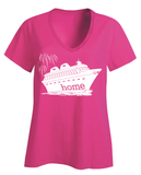 That Magical Cruise Is My Home Ladies T-Shirt - With Personalization Option
