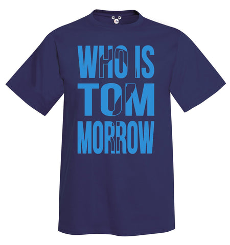 Classic DisGear Who Is Tom Morrow Tee - Behind The Mouse