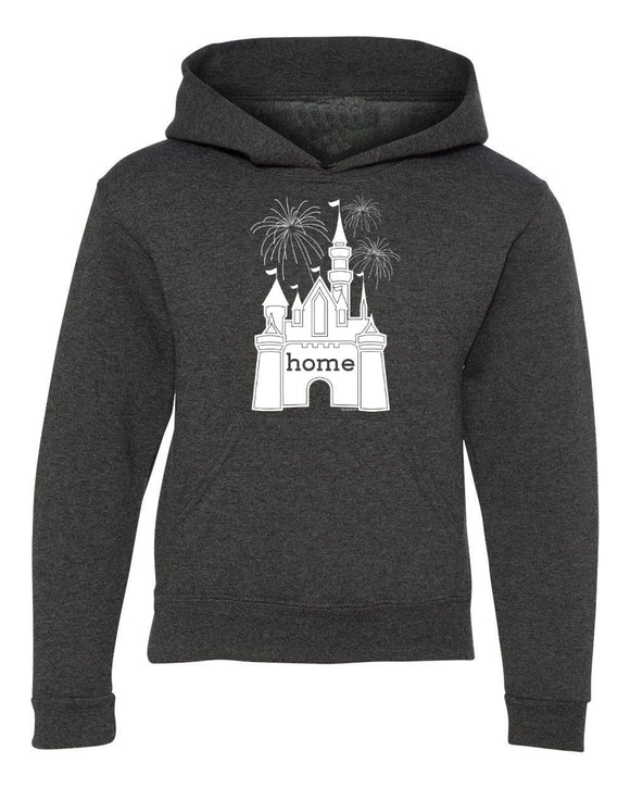 Youth That Magical Castle Is My Home Fireworks Hoodie
