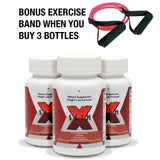 3 Bottle  X-SLIM: Prescription Grade THERMOGENIC Formula Combo**RECEIVE Brand New Exercise Band ($39.00 value) along with order  NO CHARGE To You!