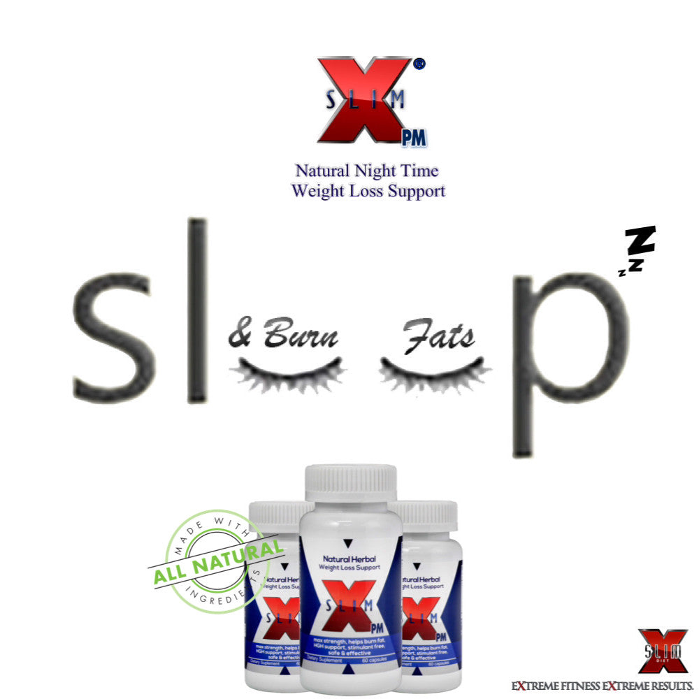 3 Bottle X-SLIM PM®: NIGHT TIME WEIGHT LOSS FORMULA Combo