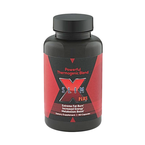 X-SLIM PLUS®: Weight Loss Dietary Supplements - Fat Burning Supplements for Men and Women - 60 Premium Quality Thermogenic  Fat Burner Capsules - Metabolism and Energy Booster