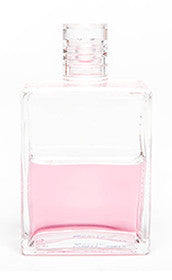 Aura-Soma - Equilibrium 50ml Bottle B11 / Chain of Flowers / The Essene Bottle / Clear/Pink