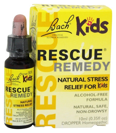 Bach Rescue Remedy Kids 10ml Drops *Alcohol-free*