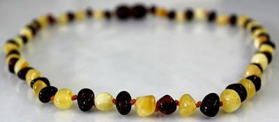 Amber Teething Necklace - Polished Cherry Scotch *SALE PRICE*