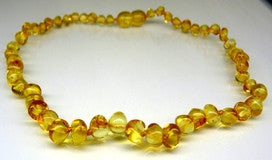 Amber Teething Necklace - Polished Honey *SALE PRICE*