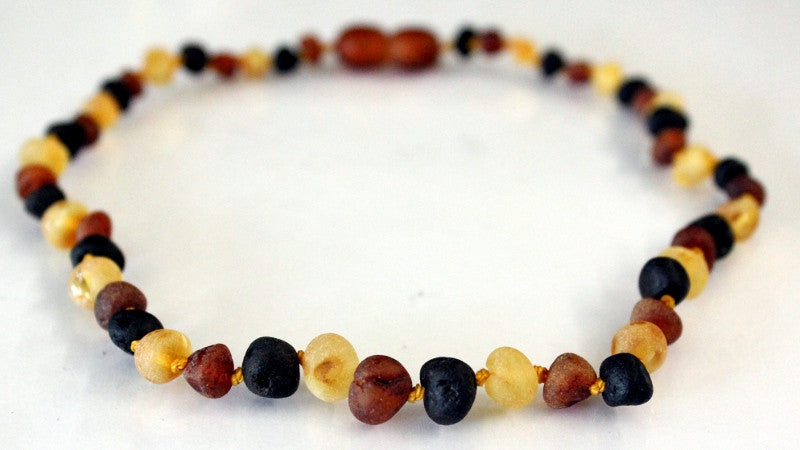 Amber Teething Necklace - RAW Multi-Scotch *SALE PRICE*