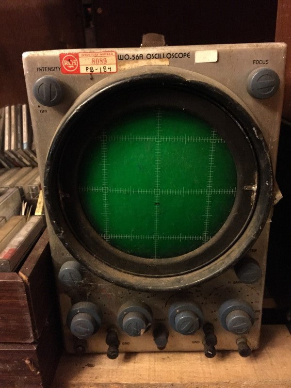 RCA oscilloscope model WO-56A .