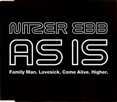 Nitzer Ebb 'As Is""
