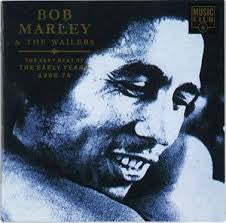 Bob Marley & The Wailers 'The Very Best of the Early Years 68-74'