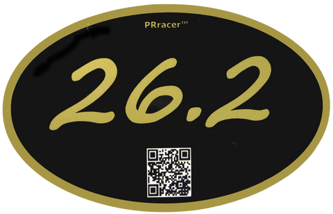 26.2 Gold Black Decal