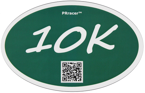 10K Green Decal