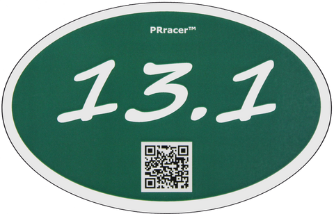 13.1 Green Decal