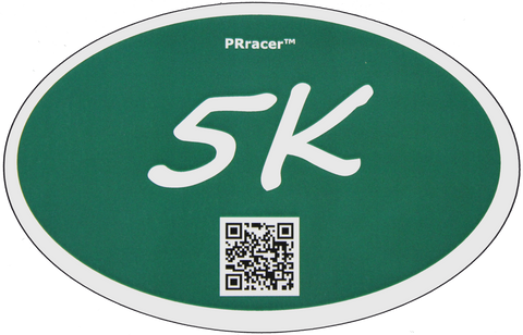 5K Green Decal
