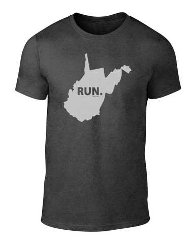 West Virginia RUN.T for Men/Unisex