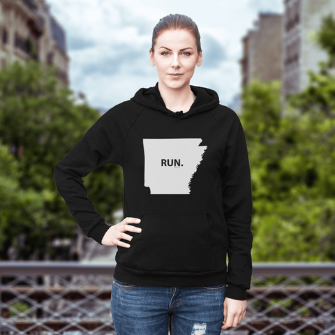 Arkansas RUN. Sweatshirt