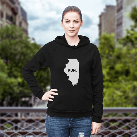 Illinois RUN. Sweatshirt