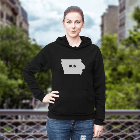 Iowa RUN. Sweatshirt