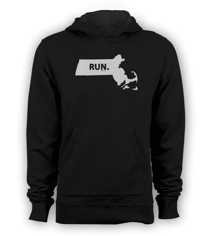 Massachusetts RUN. Sweatshirt