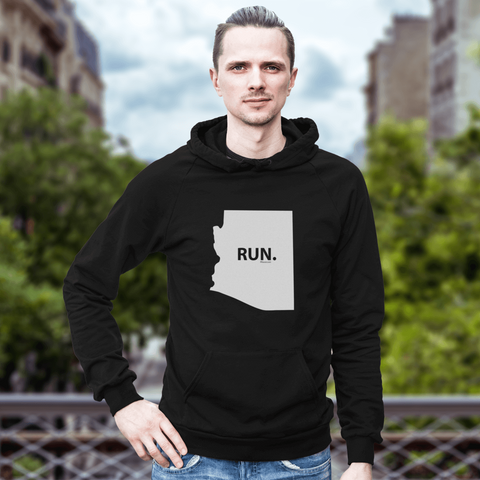 Arizona RUN. Sweatshirt