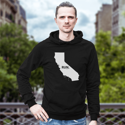 California RUN. Sweatshirt