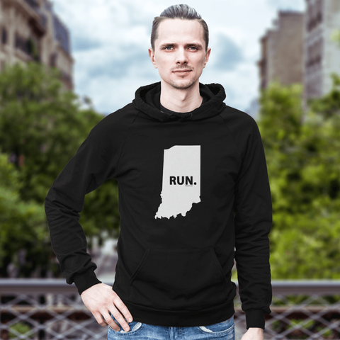 Indiana RUN. Sweatshirt