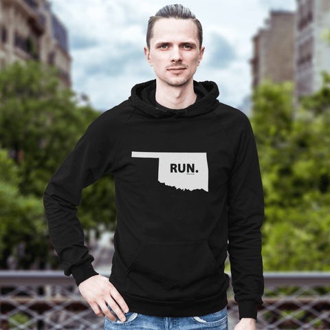 Oklahoma RUN. Sweatshirt