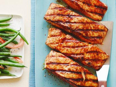 Sweet and Salty Salmon Rub